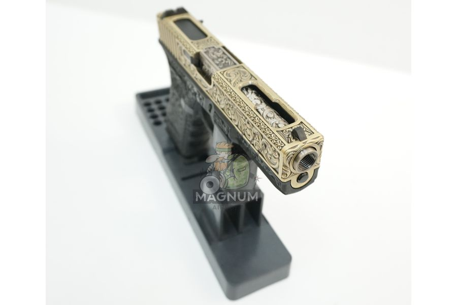 WE G002BOX BR 5 - Пистолет WE GLOCK-18 gen3 WE-G002BOX-BR