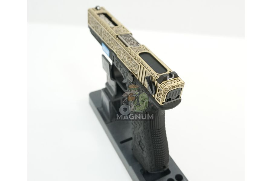 WE G002BOX BR 6 - Пистолет WE GLOCK-18 gen3 WE-G002BOX-BR