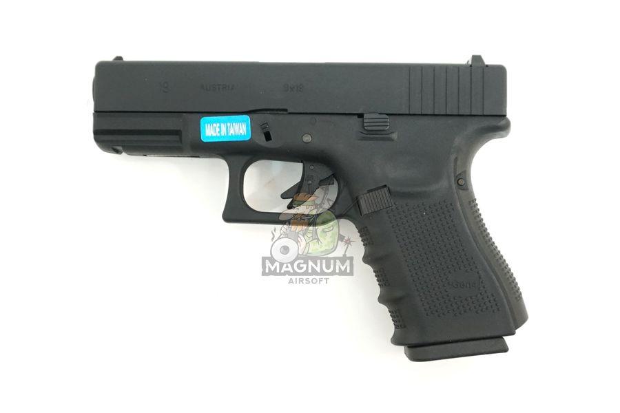 WE G003B BK 1 - Пистолет WE GLOCK-19 gen4 WE-G003B-BK / GP619B