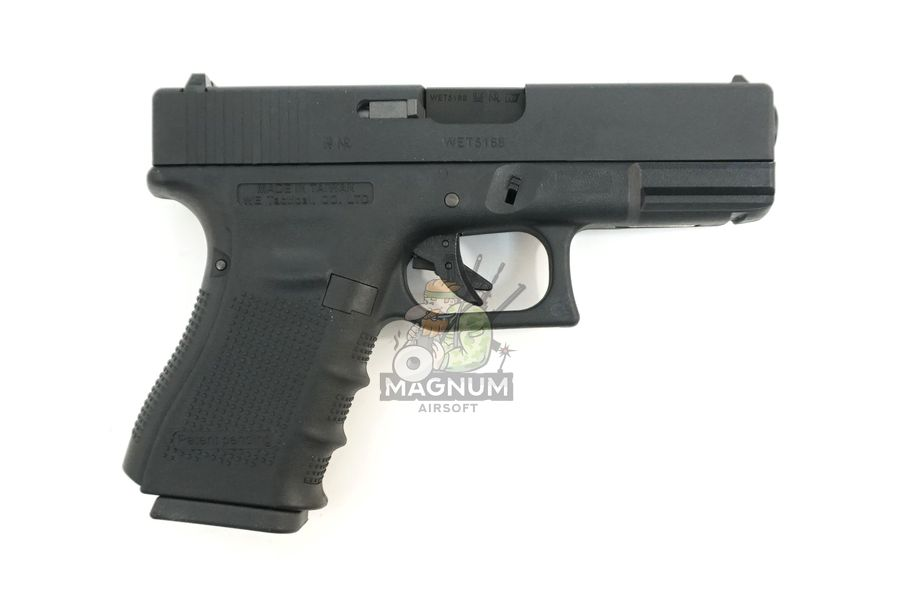 WE G003B BK 2 - Пистолет WE GLOCK-19 gen4 WE-G003B-BK / GP619B