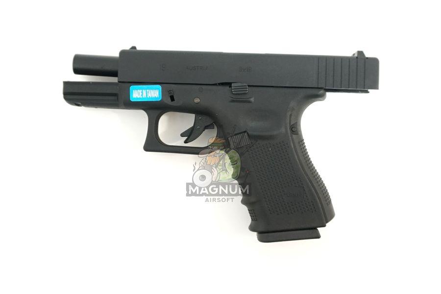 WE G003B BK 5 - Пистолет WE GLOCK-19 gen4 WE-G003B-BK / GP619B