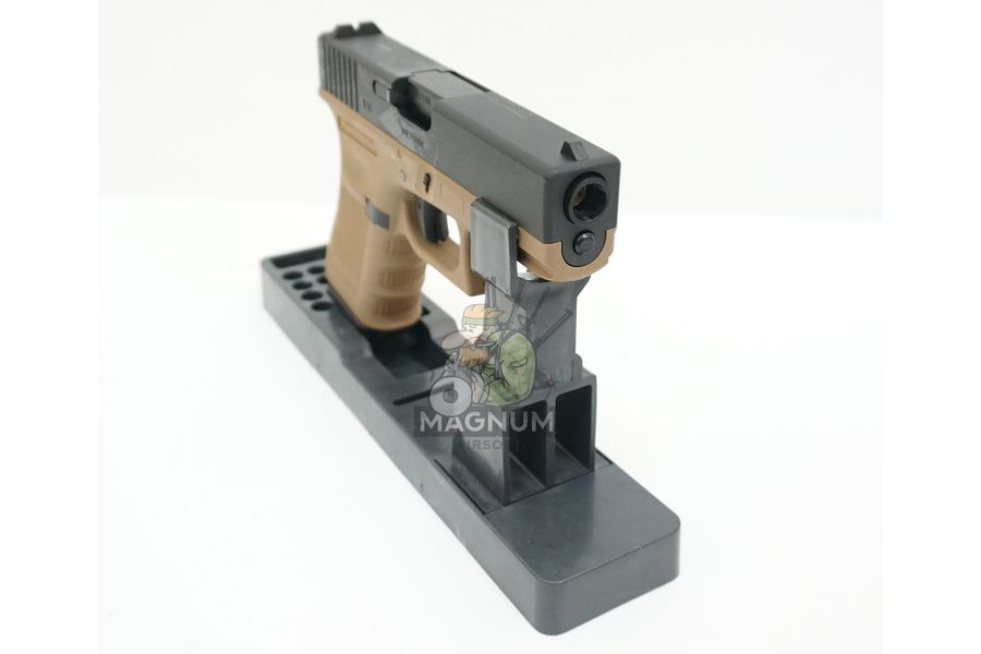 WE G003B TAN 5 - Пистолет WE GLOCK-19 gen4 WE-G003B-TAN / GP619B-TAN