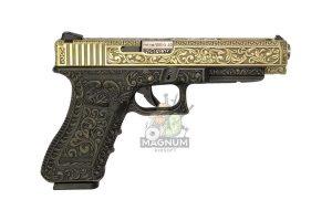 WE G008BOX BR 2 300x200 - Пистолет WE GLOCK-34 gen3 WE-G008BOX-BR