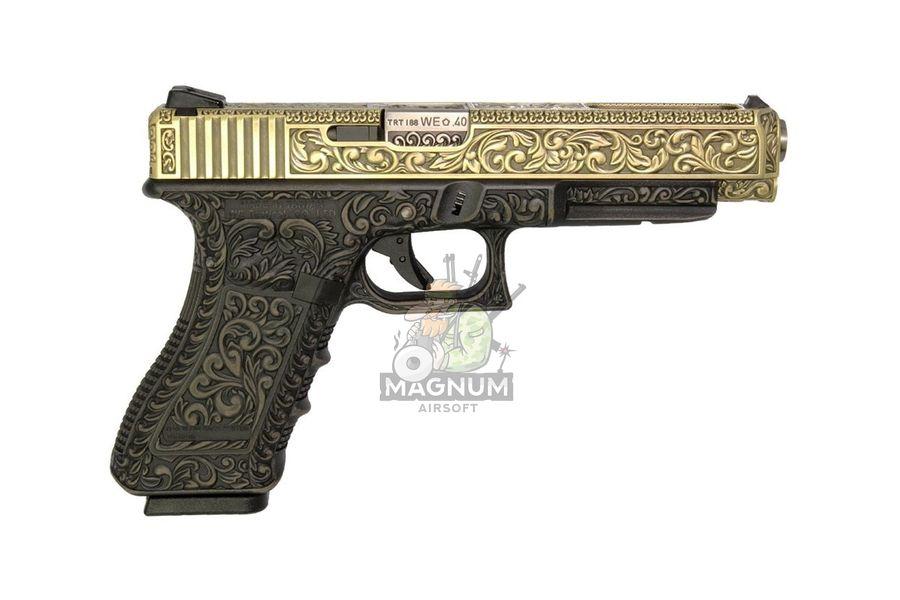 WE G008BOX BR 2 - Пистолет WE GLOCK-34 gen3 WE-G008BOX-BR