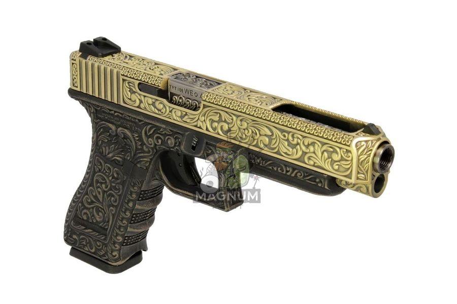 WE G008BOX BR 3 - Пистолет WE GLOCK-34 gen3 WE-G008BOX-BR