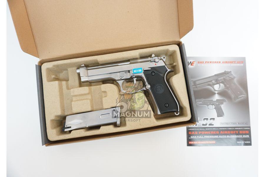 WE M002 3 - Пистолет WE BERETTA M92F WE-M002 / GP301SV