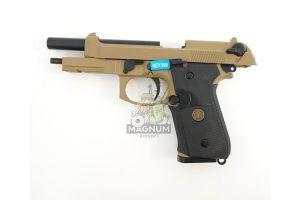 WE M009 TAN 3 300x200 - Пистолет WE BERETTA M92F WE-M009-TAN / GP301(TAN)