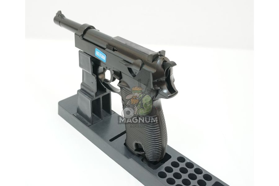 WE P010LBOX BK 4 - Пистолет WE WALTHER P38 GBB WE-P010LBOX-BK / GP124BB