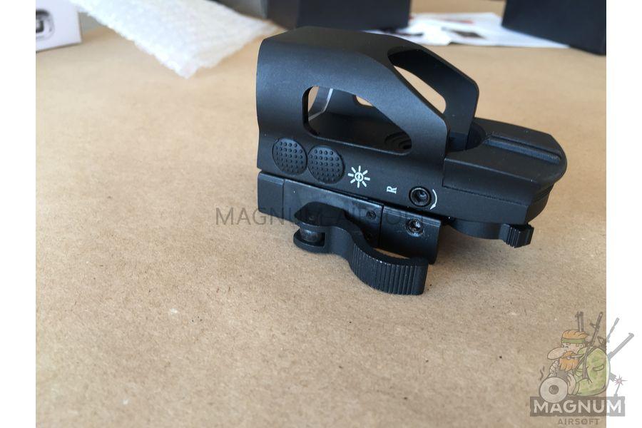 IMG 6006 - Прицел коллиматорный Multi 4 Reticle Reflex QD Red/Green Dot AS-SP0074