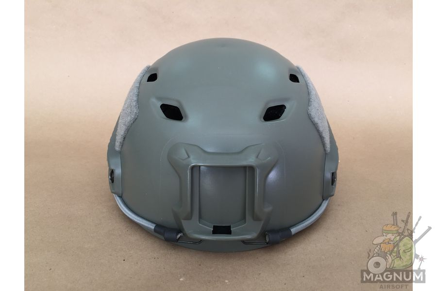 IMG 7205 - ШЛЕМ ПЛАСТИКОВЫЙ EMERSON FAST Helmet BJ TYPE Light version c рельсами FMA AS-HM0119FG