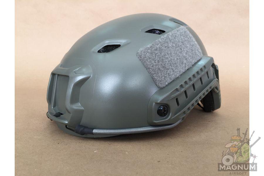 IMG 7206 - ШЛЕМ ПЛАСТИКОВЫЙ EMERSON FAST Helmet BJ TYPE Light version c рельсами FMA AS-HM0119FG