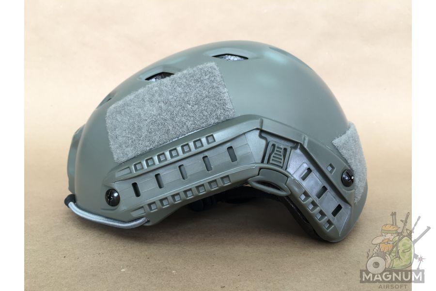 IMG 7207 - ШЛЕМ ПЛАСТИКОВЫЙ EMERSON FAST Helmet BJ TYPE Light version c рельсами FMA AS-HM0119FG