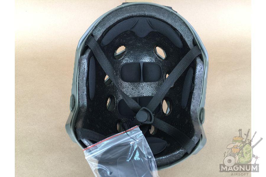 IMG 7208 - ШЛЕМ ПЛАСТИКОВЫЙ EMERSON FAST Helmet BJ TYPE Light version c рельсами FMA AS-HM0119FG