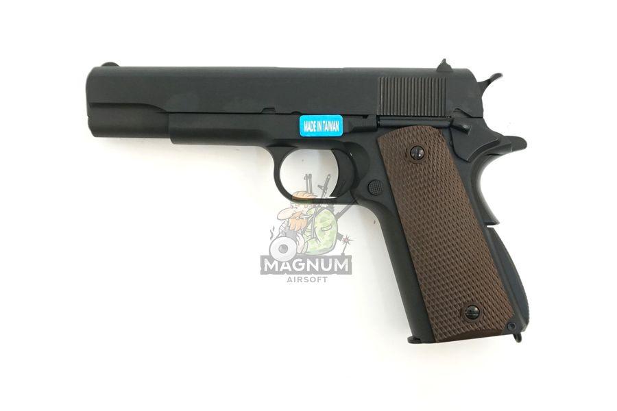 WE E001A 1 - Пистолет WE COLT M1911А1 WE-E001A / GP109
