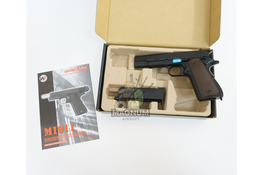 WE E001A 3 - Пистолет WE COLT M1911А1 WE-E001A / GP109