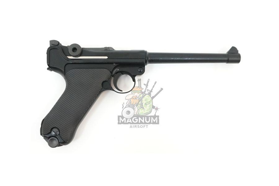 "WE P002 2 - Пистолет WE Luger P-08 6"" WE-P002 / GP402"