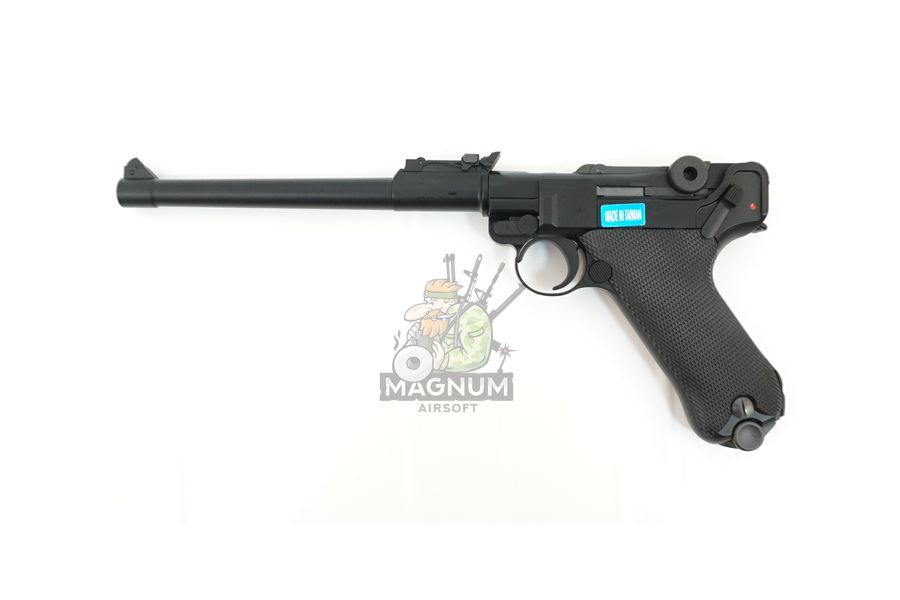 "WE P003 1 - Пистолет WE Luger P-08 8"" WE-P003 / GP403"