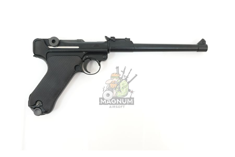"WE P003 2 - Пистолет WE Luger P-08 8"" WE-P003 / GP403"