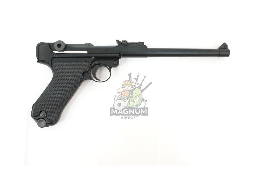 "WE P003 2 - Пистолет WE Luger P-08 8"" WE-P003 / GP403"