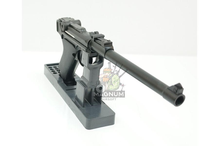 "WE P003 6 - Пистолет WE Luger P-08 8"" WE-P003 / GP403"