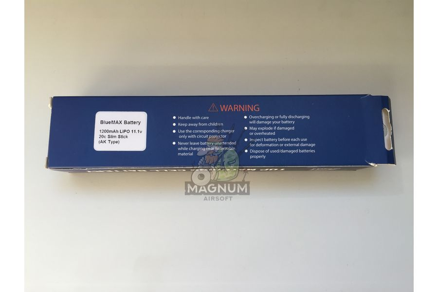 Bluamax 11.1 3 - Аккумулятор BlueMAX 11.1V Lipo 1200 mAh в АК серию
