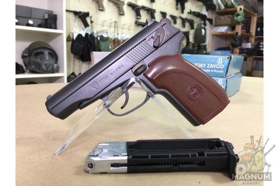 IMG 7079 - Пневматический пистолет Umarex ПМ Ultra  к.4,5