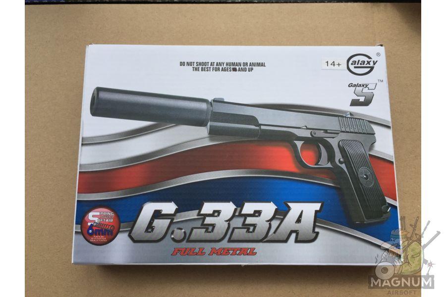 IMG 4298 - Пистолет Galaxy ТТ Токарев с глушителем G.33A SPRING