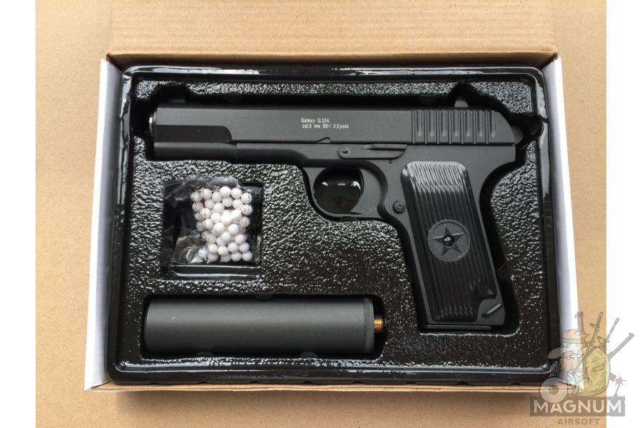 IMG 4299 - Пистолет Galaxy ТТ Токарев с глушителем G.33A SPRING
