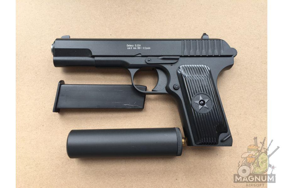 IMG 4300 - Пистолет Galaxy ТТ Токарев с глушителем G.33A SPRING