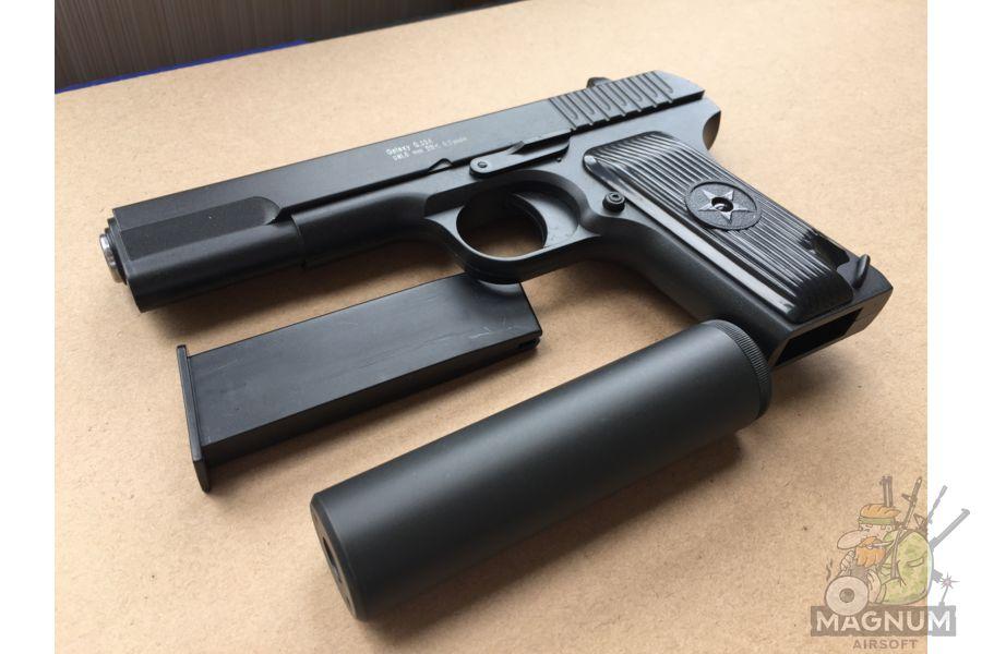 IMG 4301 - Пистолет Galaxy ТТ Токарев с глушителем G.33A SPRING