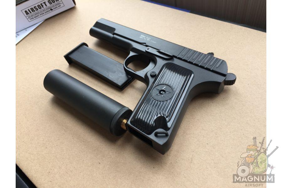 IMG 4302 - Пистолет Galaxy ТТ Токарев с глушителем G.33A SPRING