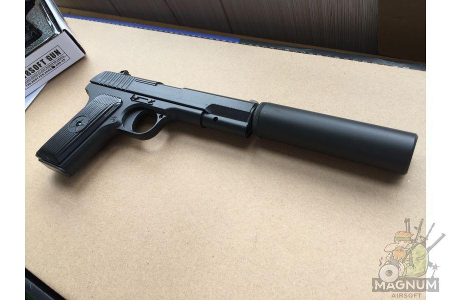 IMG 4303 - Пистолет Galaxy ТТ Токарев с глушителем G.33A SPRING