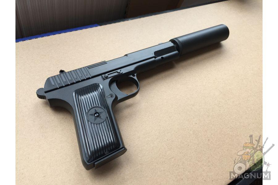IMG 4304 - Пистолет Galaxy ТТ Токарев с глушителем G.33A SPRING