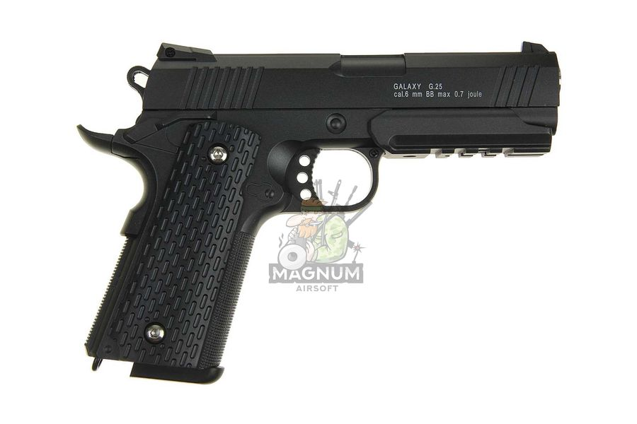 G.25 1 - Пистолет Galaxy Colt 1911 PD Rail  G.25 SPRING