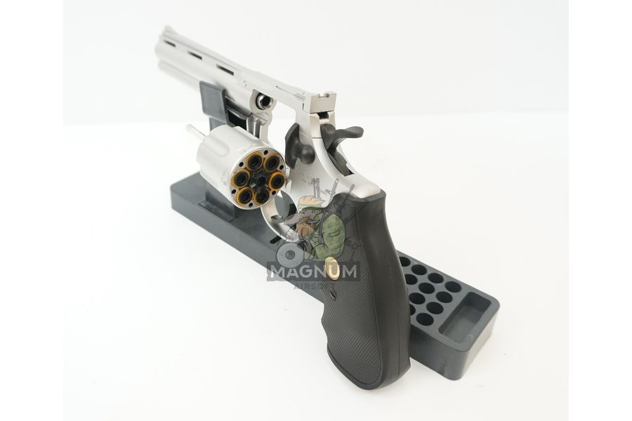 G.36S 3 - Пистолет Galaxy Colt Python Silver G.36S SPRING