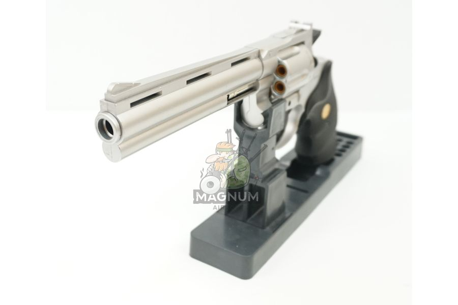 G.36S 4 - Пистолет Galaxy Colt Python Silver G.36S SPRING