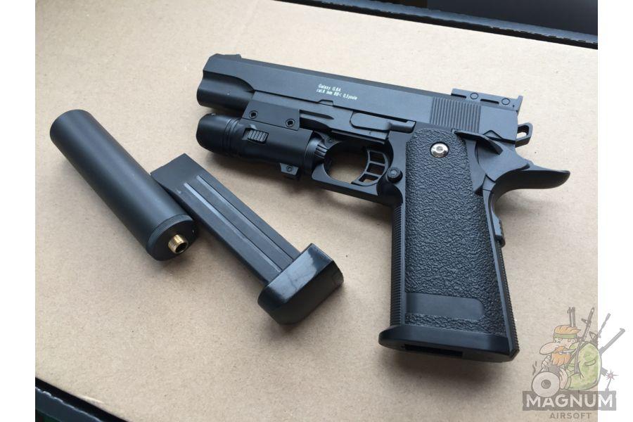 IMG 4738 - Пистолет Galaxy Colt Hi-Capa G.6A SPRING