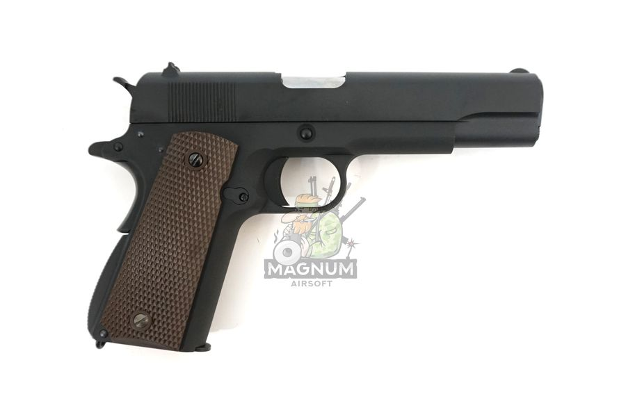 WE E017C BK 2 - Пистолет WE COLT M1911А1 Gen 2 CO2 WE-E017C-BK