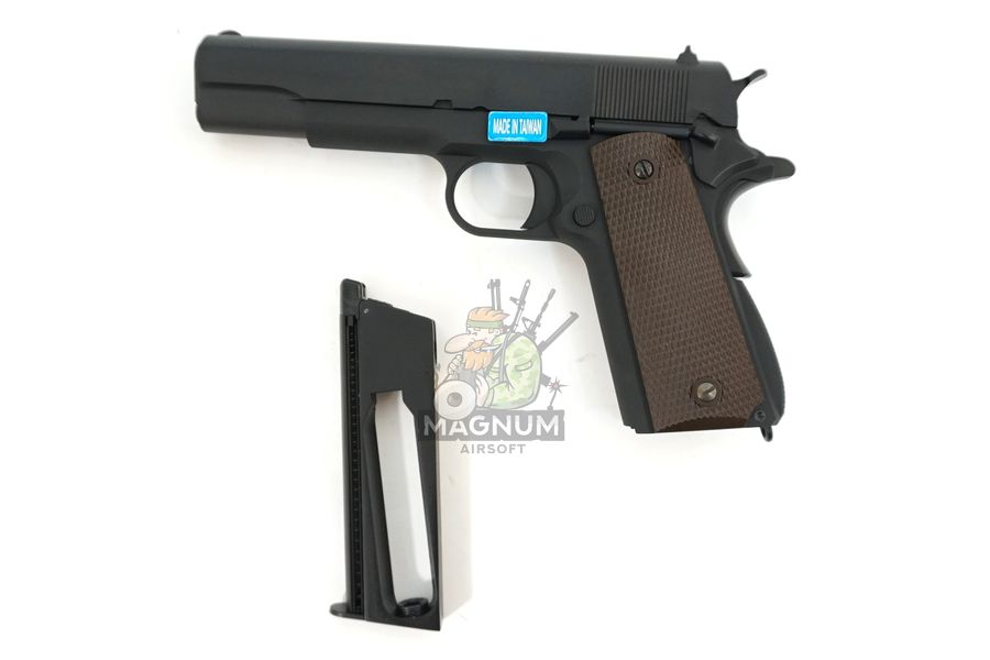 WE E017C BK 4 - Пистолет WE COLT M1911А1 Gen 2 CO2 WE-E017C-BK