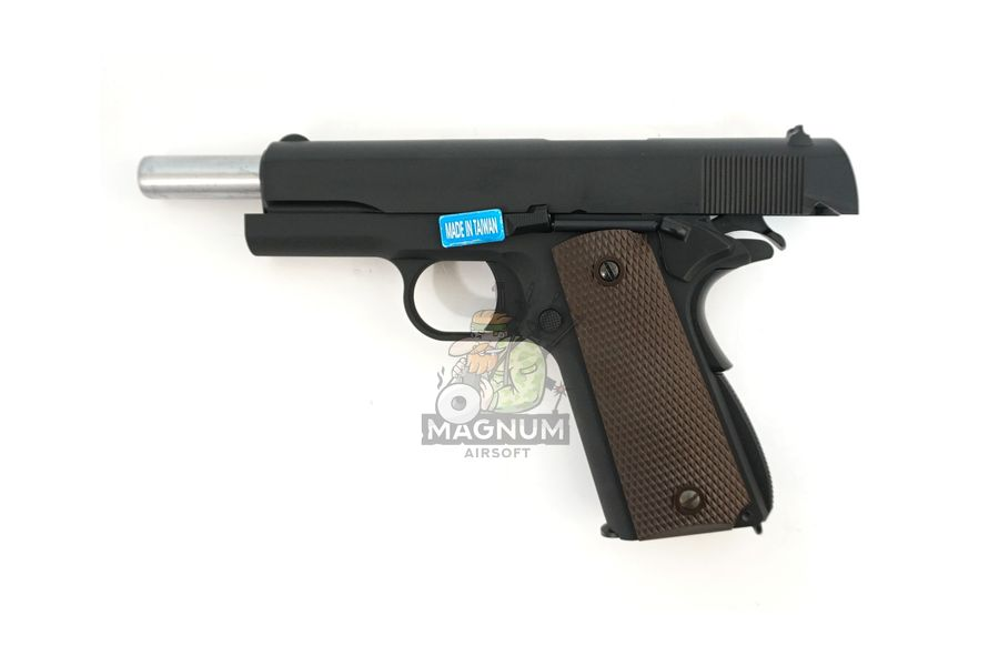WE E017C BK 5 - Пистолет WE COLT M1911А1 Gen 2 CO2 WE-E017C-BK