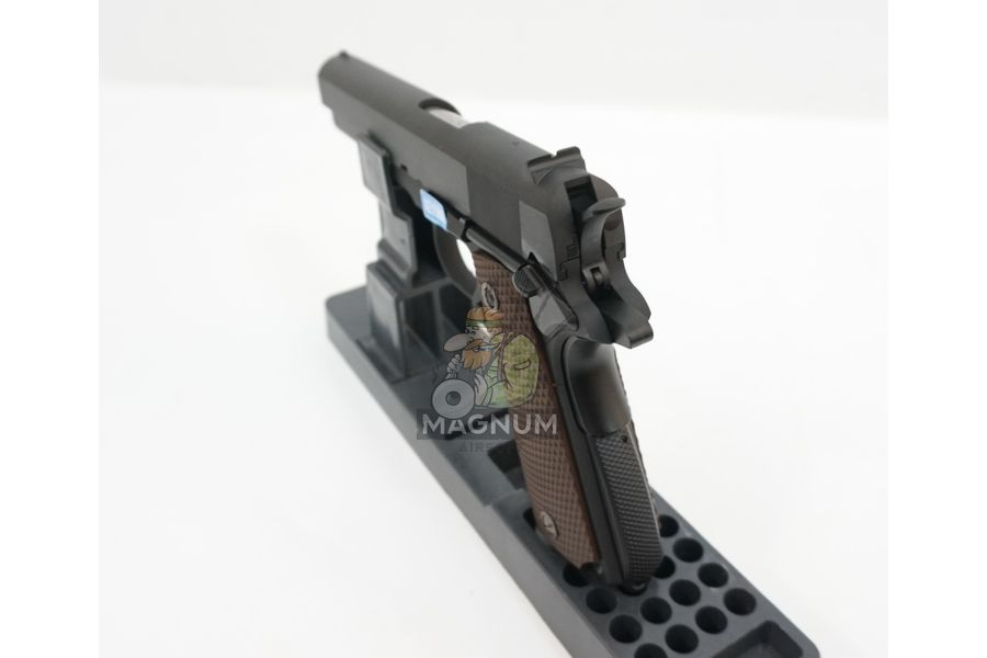 WE E017C BK 7 - Пистолет WE COLT M1911А1 Gen 2 CO2 WE-E017C-BK