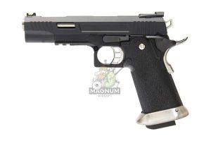WE H001WET BK 1 300x200 - Пистолет WE COLT M1911 HI-CAPA 5.1 WET REX Long Black WE-H001WET-BK