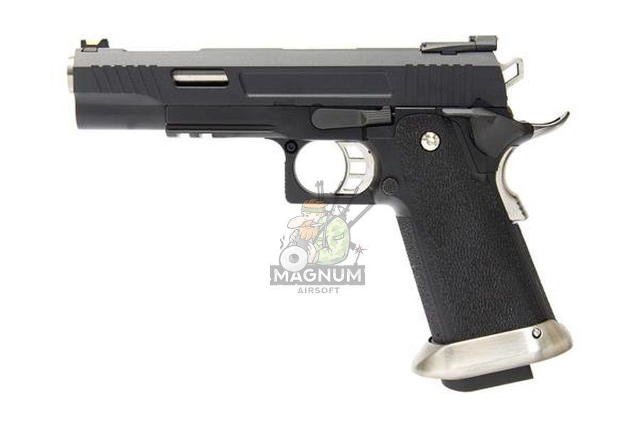 WE H001WET BK 1 - Пистолет WE COLT M1911 HI-CAPA 5.1 WET REX Long Black WE-H001WET-BK