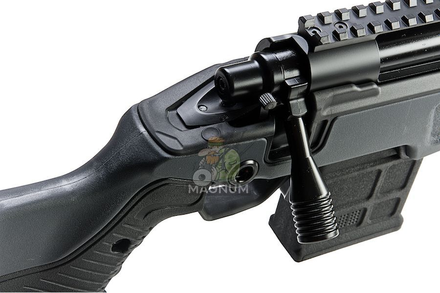 Action Army AAC T10 Shorty Spring Airsoft Rifle ( GY)