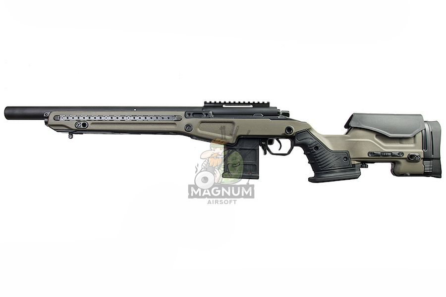 Action Army AAC T10 Shorty Spring Airsoft Rifle ( OD)
