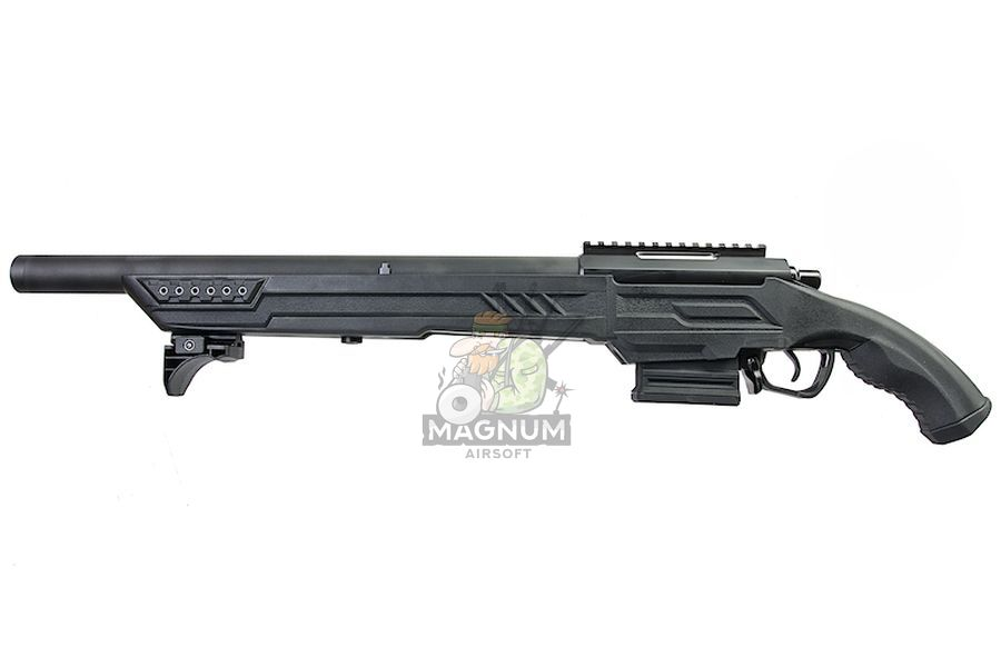 Action Army AAC T11S Spring Airsoft Rifle ( Black)