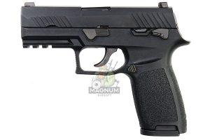 ASIA Electric Guns Alloy Slide F18 GBB Pistol - Black