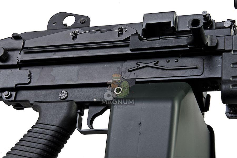 A&K M249 MKII Light Machine Gun AEG - Black