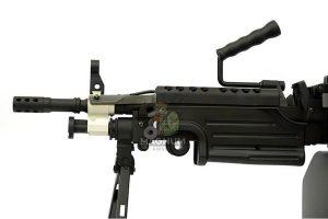 A&K M249 PARA Light Machine Gun AEG - Black
