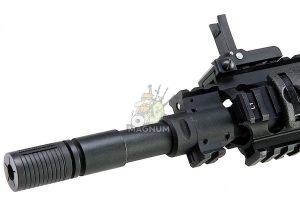 A&K Full Metal SR-25K Airsoft AEG Rifle - Black